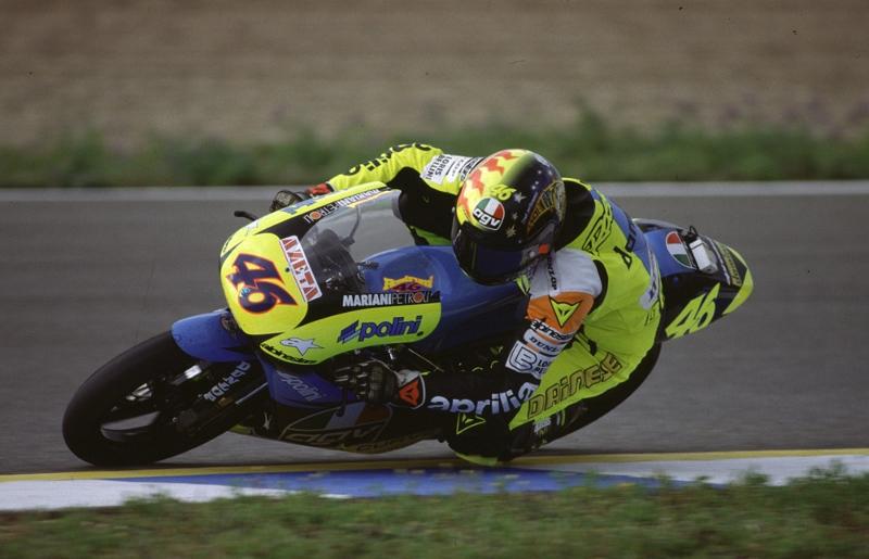 Rossi in 1996