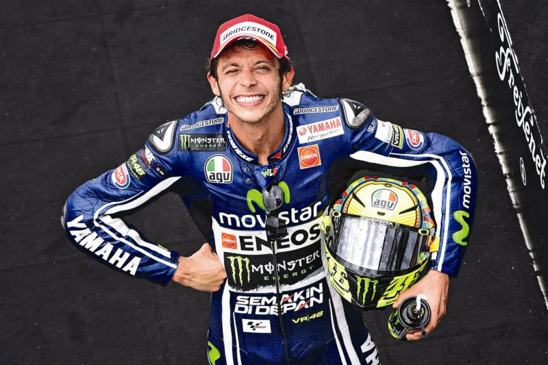 ROSSI Valentino of Italy and Yamaha Factory Racing, portrait  during the Moto GP Indianapolis Grand Prix at Indianapolis from August 8th to 9th 2014 in the United States of America - Photo Milagro / DPPI