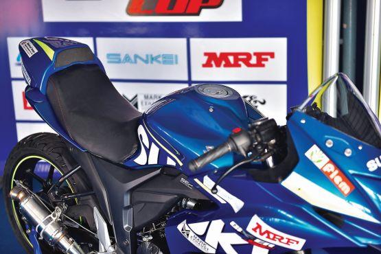Suzuki Gixxer Cup race bike ride WEB4