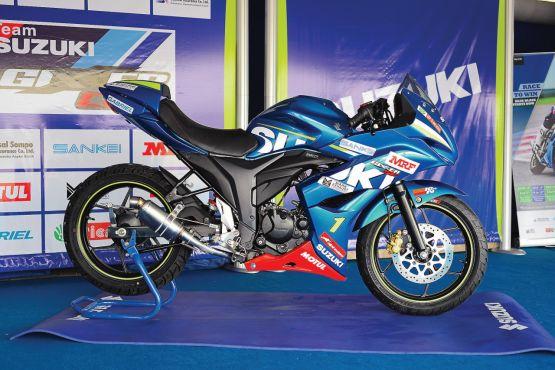 Suzuki Gixxer Cup race bike ride WEB6