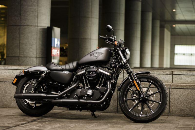 2015 2016 Harley-Davidson Iron 883 first impressions web