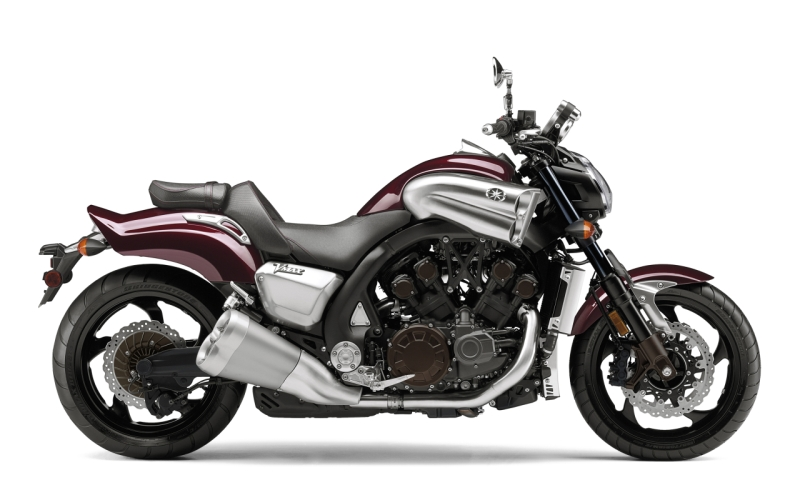 Turbocharged Yamaha VMAX 1 web