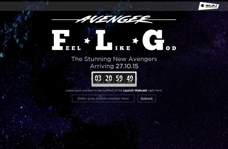 Bajaj Avenger Countdown