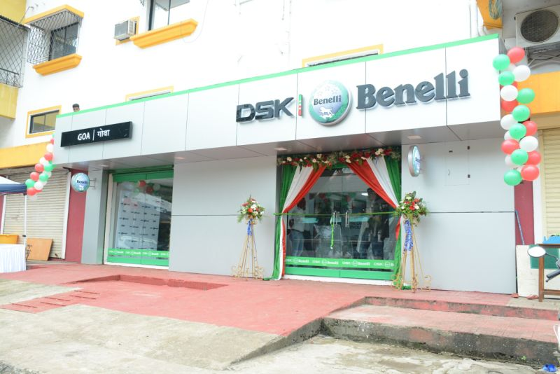 DSK Benelli Goa Shoroom web