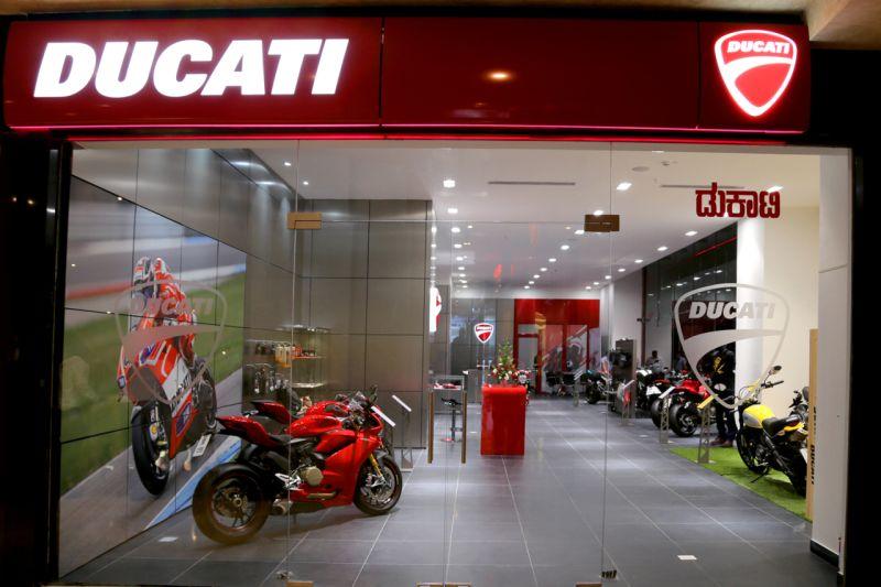 2015 Ducati Bengaluru VST showroom web 1a