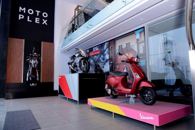 Newly launched Piaggio Motoplex store pic 1WEB