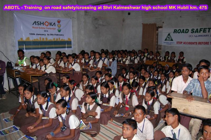 Ashoka Buildcon School Camp Road Safety Campaign 1 web