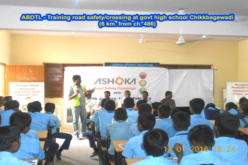 Ashoka Buildcon School Camp Road Safety Campaign 2 web