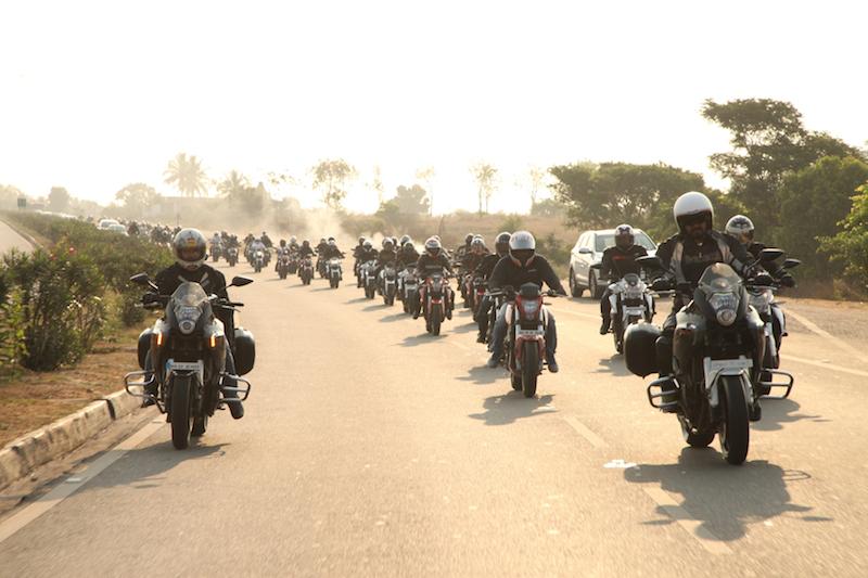 DSK Benelli success ride-Bangalore web