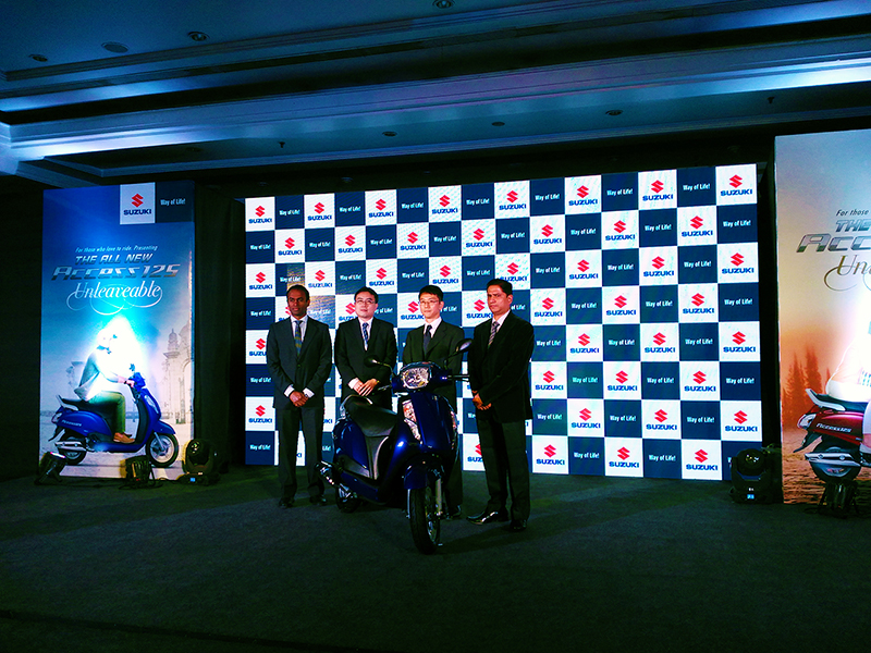 Suzuki Access125 Launch
