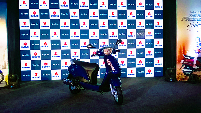 Suzuki Access125 Launch1