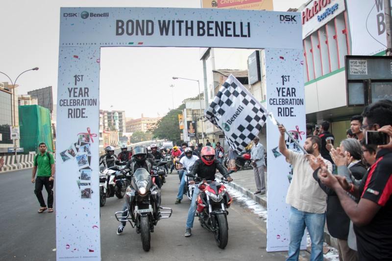 DSK Benelli Chennai Ride BondWithBenelli web 2