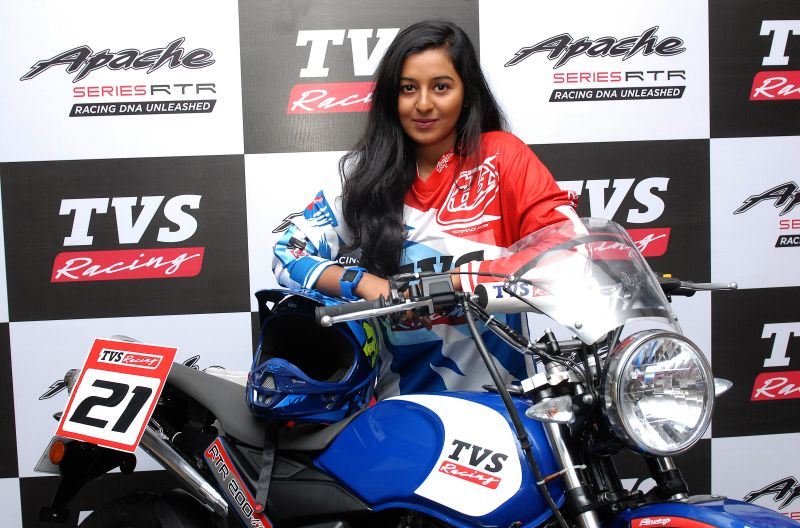 TVS Racing Get Their First Ever Woman Rider (1)