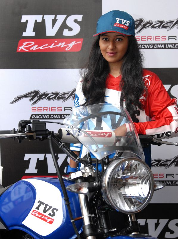 TVS Racing Get Their First Ever Woman Rider (2)