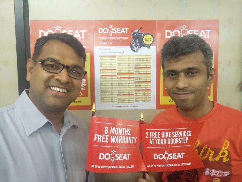 L to R - DoSeat.com Founders, Amit Bhartiya and Kalam Shah Web