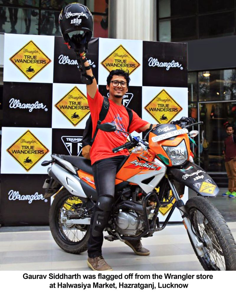 Gaurav Siddharth True Wanderer 5.0 Flag off Web
