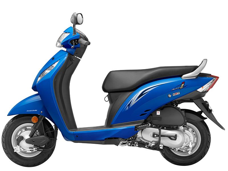Honda Activa-i_Candy Jazzy Blue