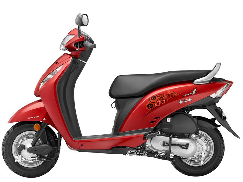 Honda Activa-i_Imperial Red Metallic