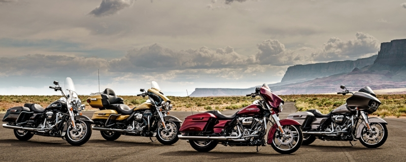 Harley-Davidson 2017 motorcycles Touring Lineup web