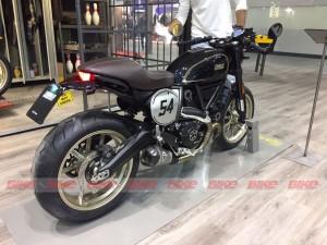 Ducati Scrambler Café Racer at EICMA