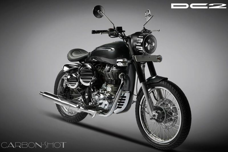 DC Design to Provide Custom Kit for the Royal Enfield Bullet 350 Web