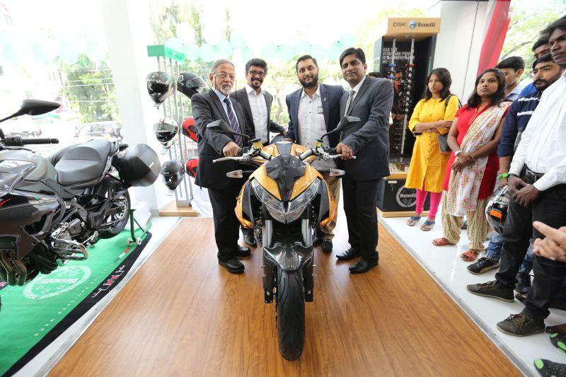 DSK Benelli Inaugurate Second Showroom in Chennai Web