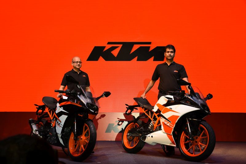 KTM RC Range Launched Web