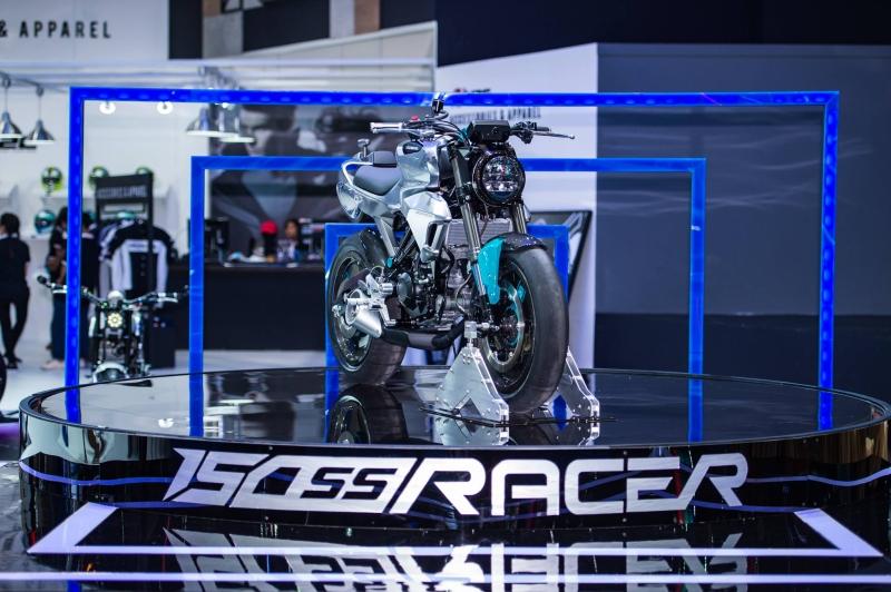 2017 Bike India Honda 150 SS Racer concept launch web 1