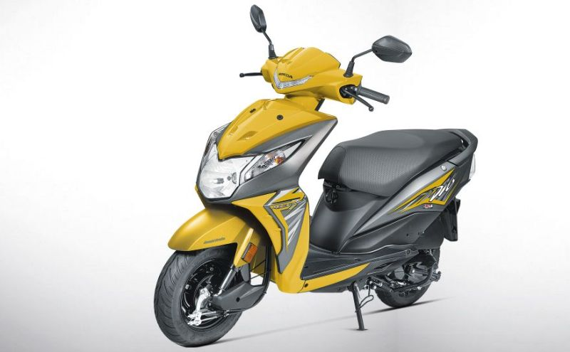 2017 Honda Dio Launched Web