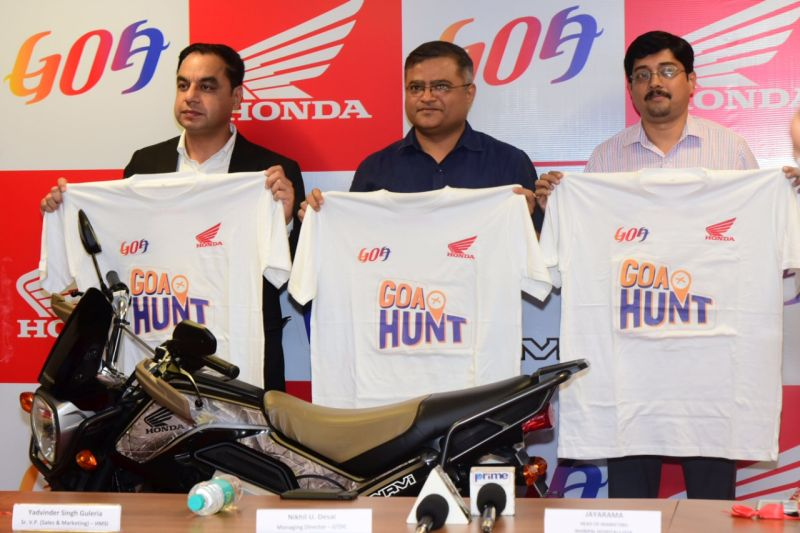 First-ever Honda Navi Goa Hunt is On Web