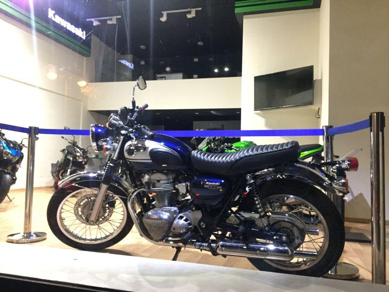 Kawasaki W800 Classic Web