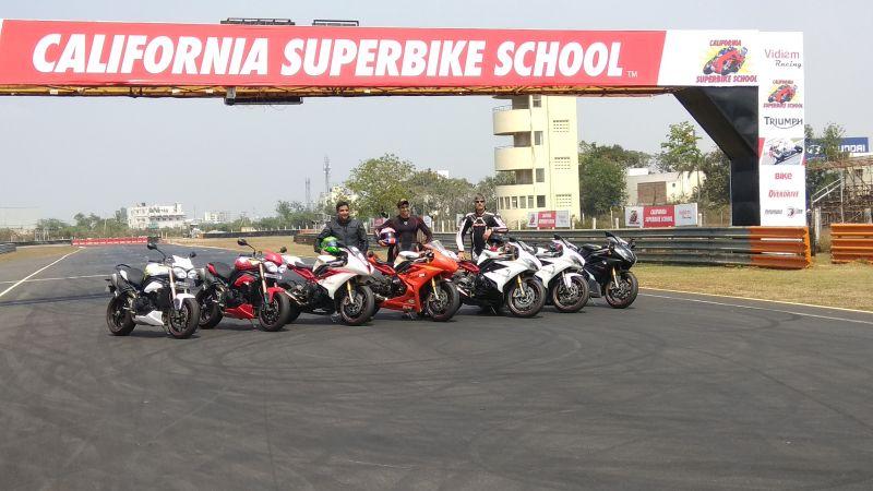 L-R- Mr. Vimal Sumbly, MD Triumph Motorcycles India, Mr. TT Siddhartha and Mr. TT Varadrajan Web