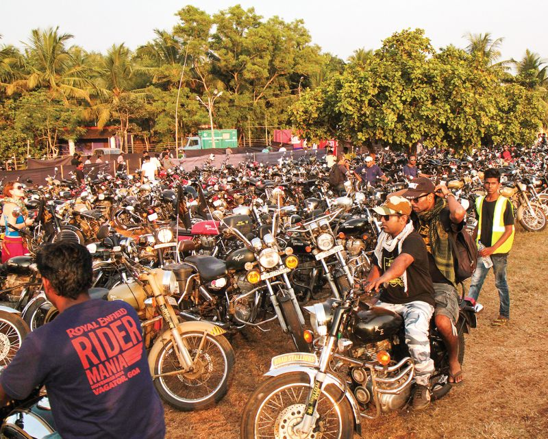 royal enfield one ride marquee