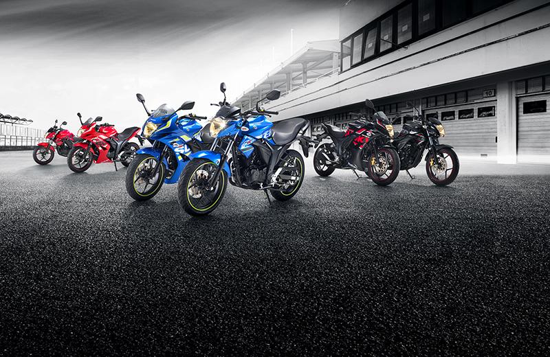Suzuki Gixxers 2017 Range_WEB