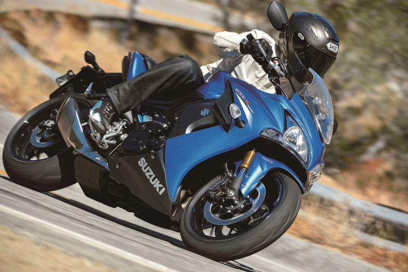 Suzuki's Big Bikes More Accessible for Limited Time Web