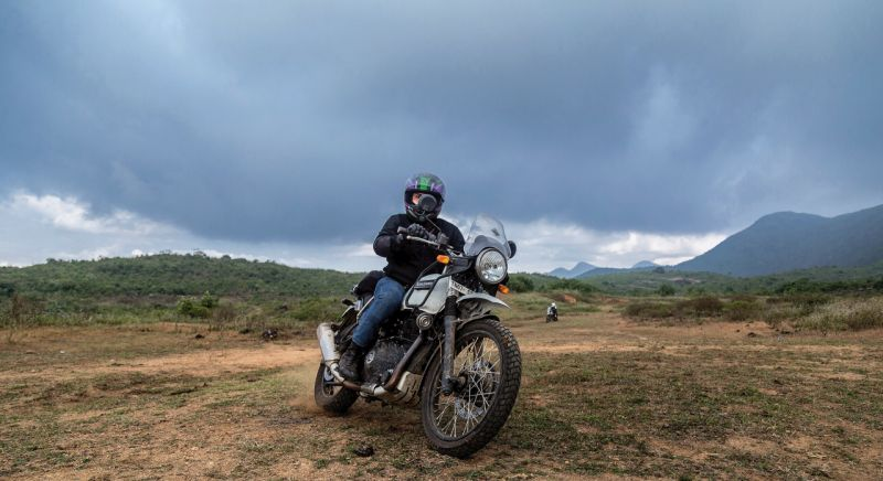 royal enfield black himalayan