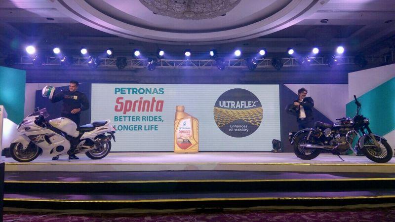 Petronas India, Sprinta lube, Synthetic motorcycle oil