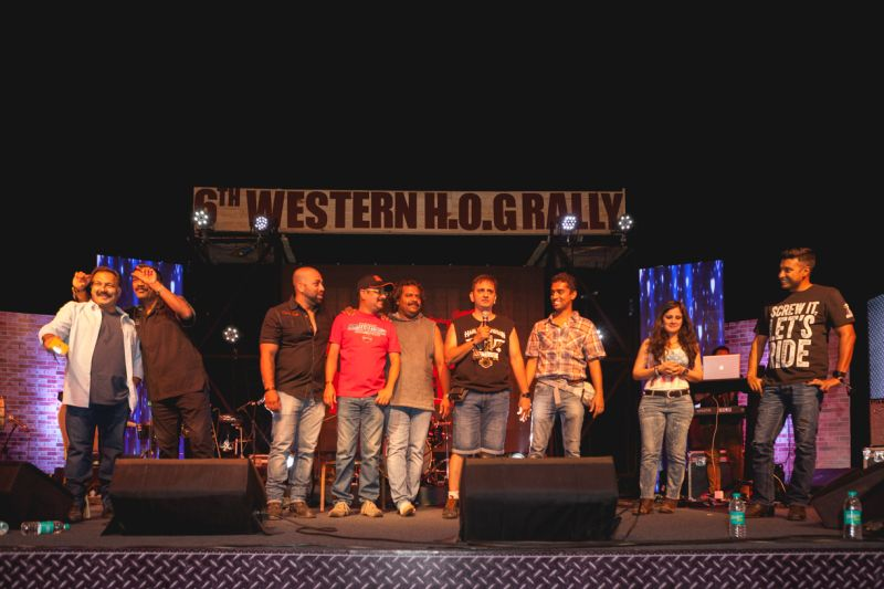 Harley-Davidson's 6th H.O.G. rally cruised to Aamby Valley, Lonavala (5) Web