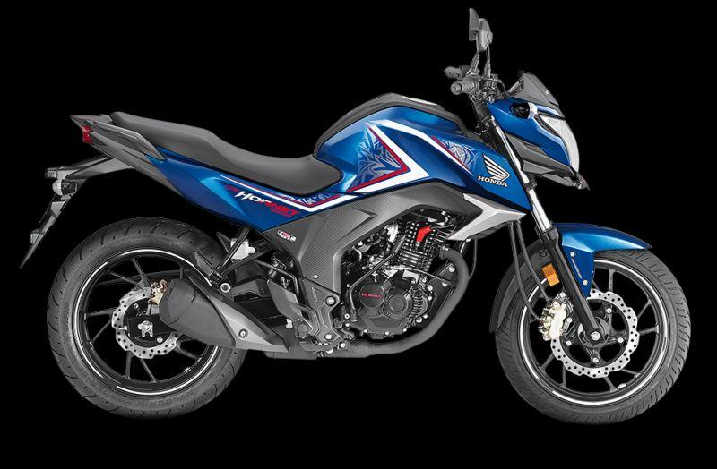 Honda CB Hornet blue Web