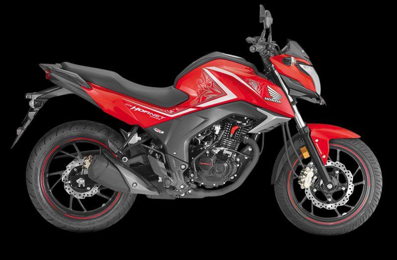 Honda CB Hornet red Web