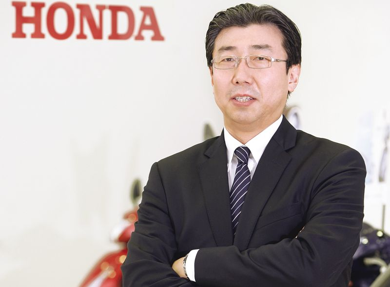 Minoru Kato the new President and CEO of HMSI