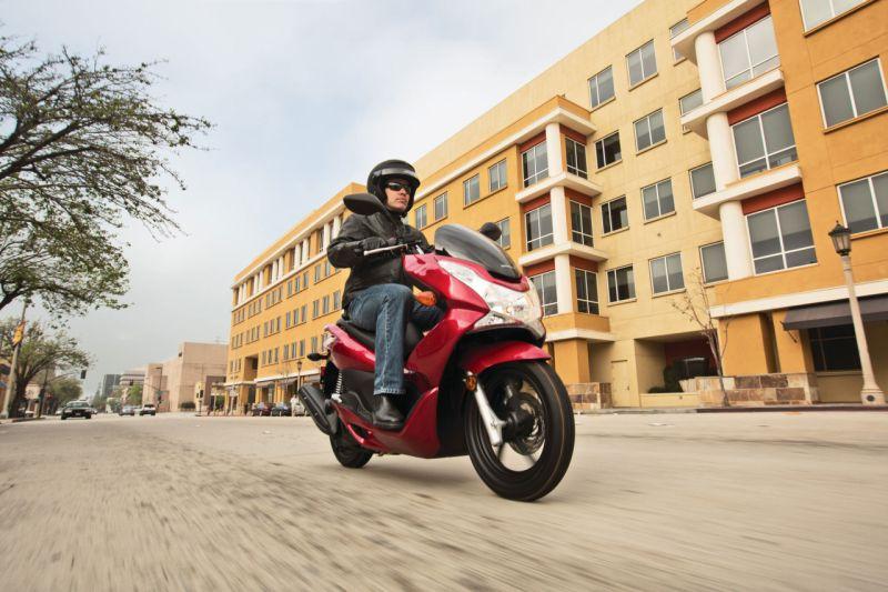 Honda PCX 150 scooter shown at Auto Expo India