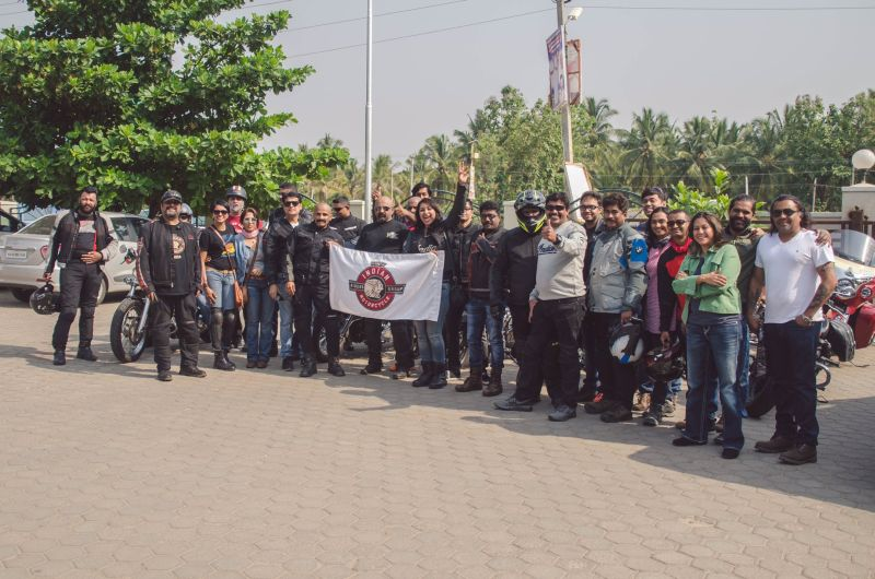 Indian Motorcycle® Riders Group™ (IMRG) ride to Melukote, Karnataka Web