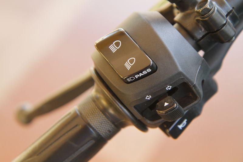 Yamaha FZ25 AHO headlight switch