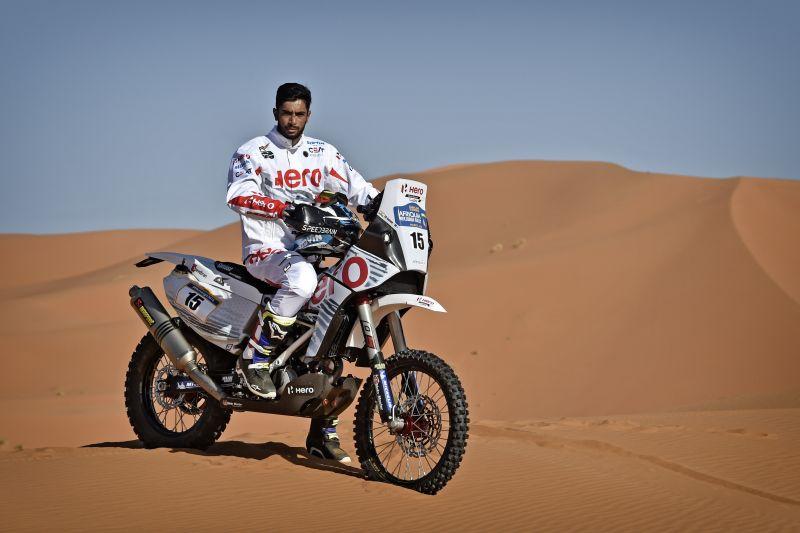 new, bike, india, hero, motorsport, off road, rally, joaquim, rodriguez, c s santhosh, news