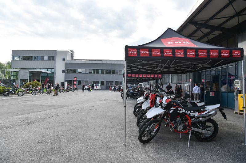 SWM motorcycle factory in Varese, Italy
