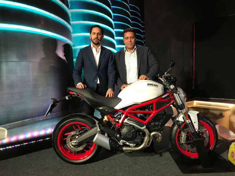 2017 Ducati Multistrada 950 and Monster 797 launch web 1