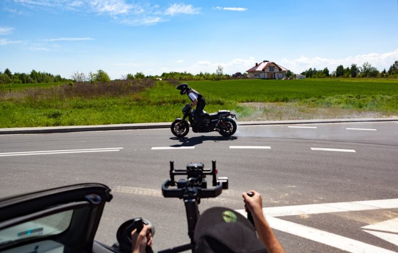 2017 Harley-Davidson Street Rod Game OVer Cycles Guiness Book World Record Burnout web 2