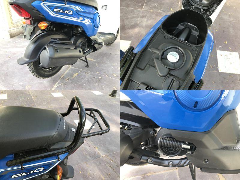 Honda Cliq 110 details