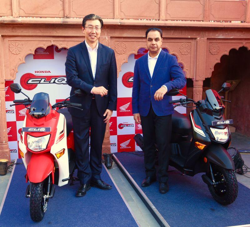 new, bike, india, honda, cliq, scooter, news, latest